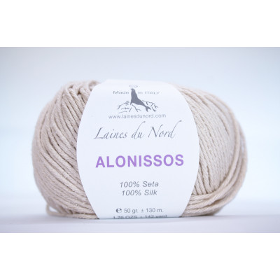 Пряжа шёлк Alonissos (Италия)