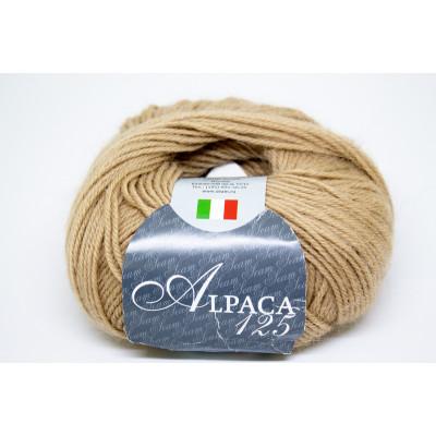 Пряжа полушерсть Alpaca125 (Италия)