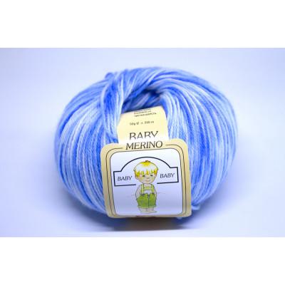 Пряжа меринос Baby Print (Италия)