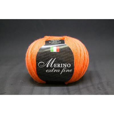 Пряжа меринос екстрафайн Merino extra fine (Италия)
