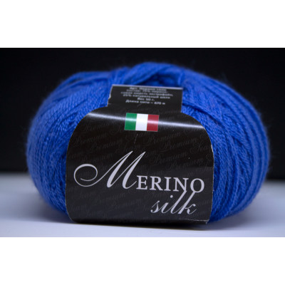 Пряжа меринос с шёлком Merino Silk (Италия)