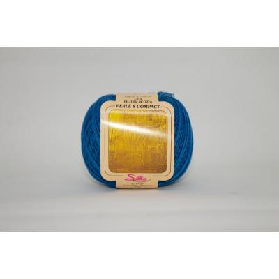 Пряжа хлопок Perle 8 compact (Италия)